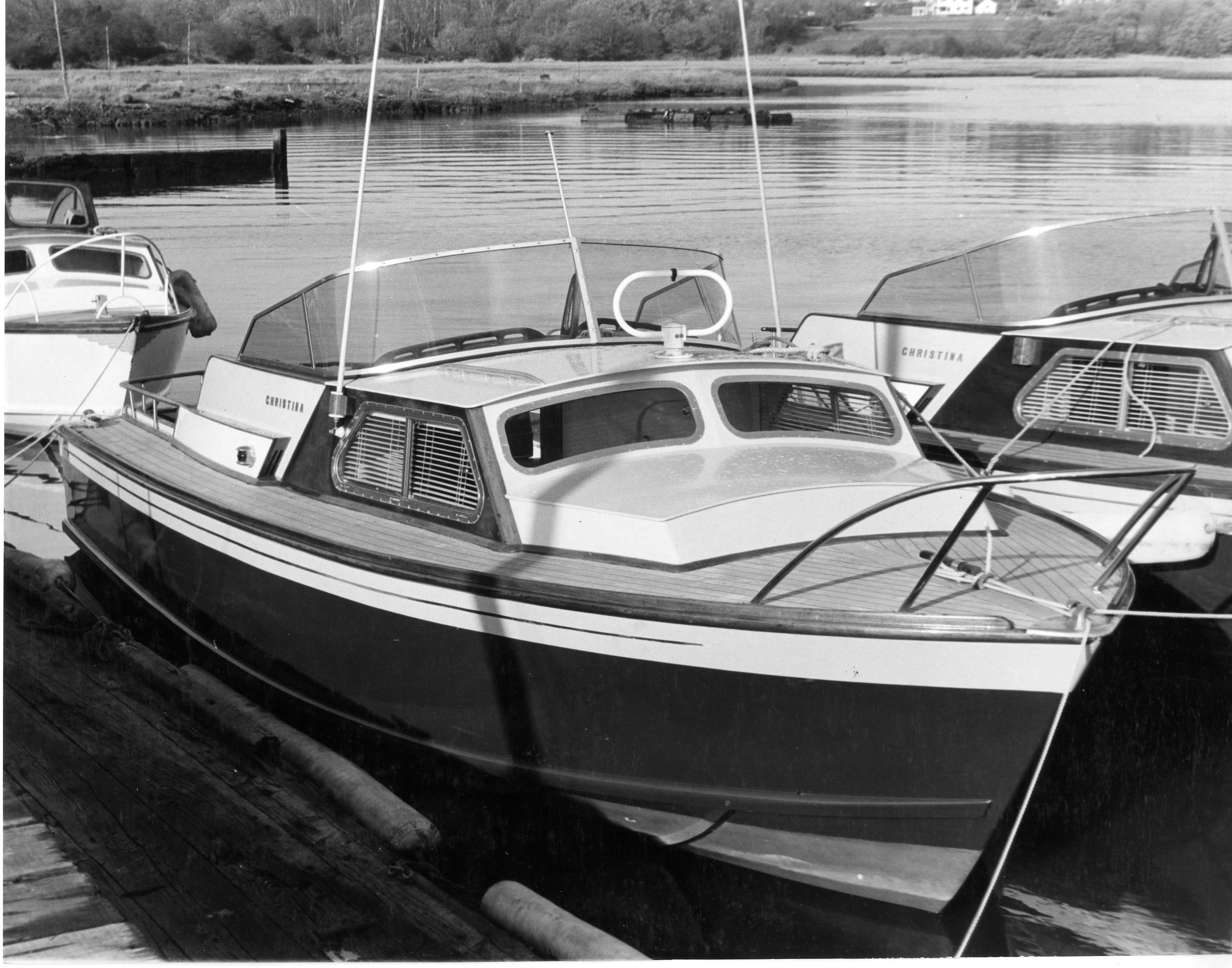 Christina May 1960 - Moored up